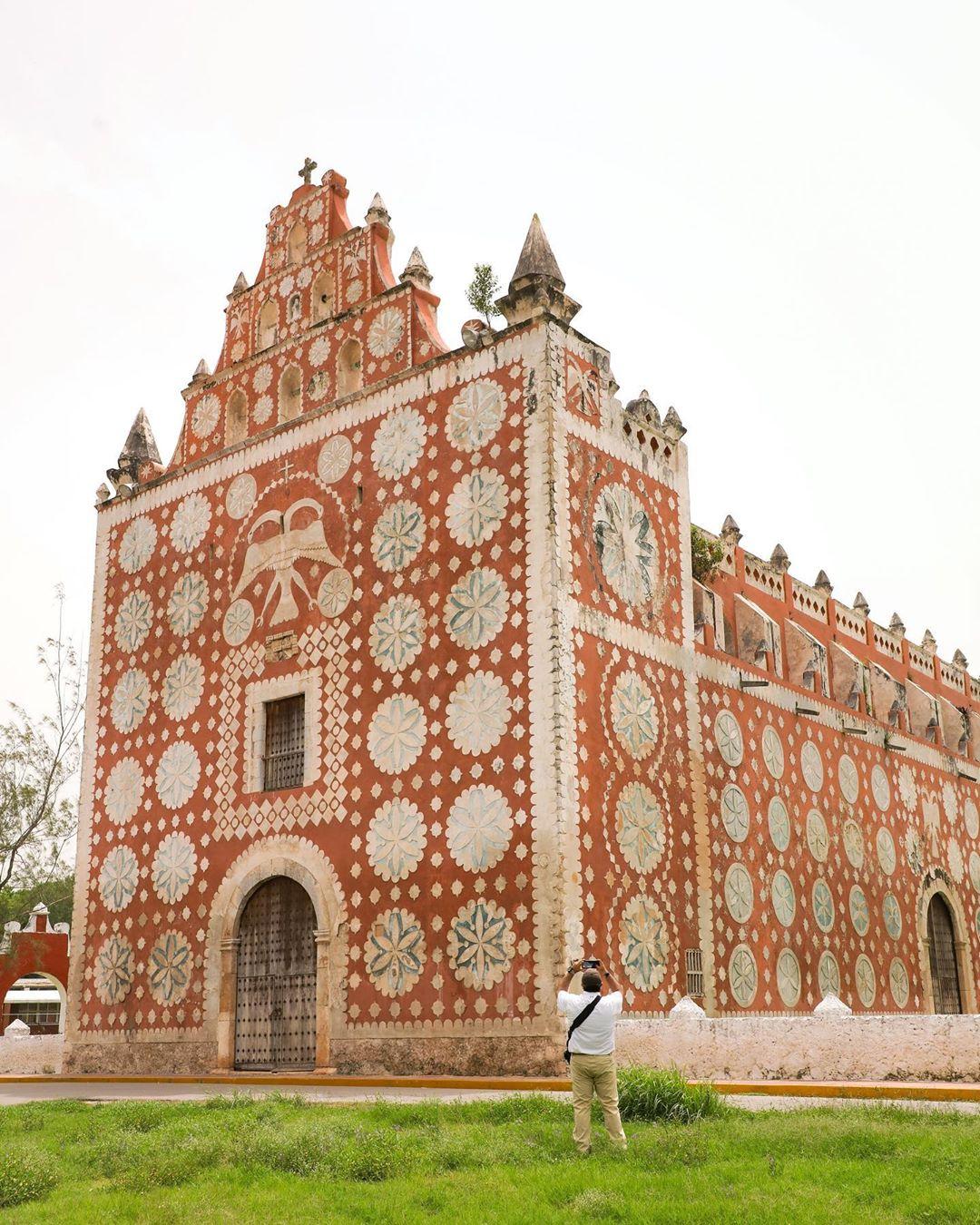 Iglesia de Uayma Yucatan, las iglesias mas hermosas de yucatan, top yucatan churches