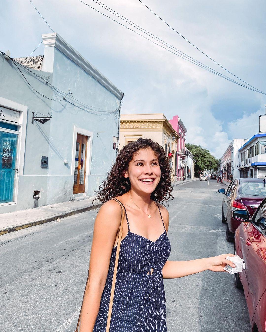 Turista en el Centro de Mérida