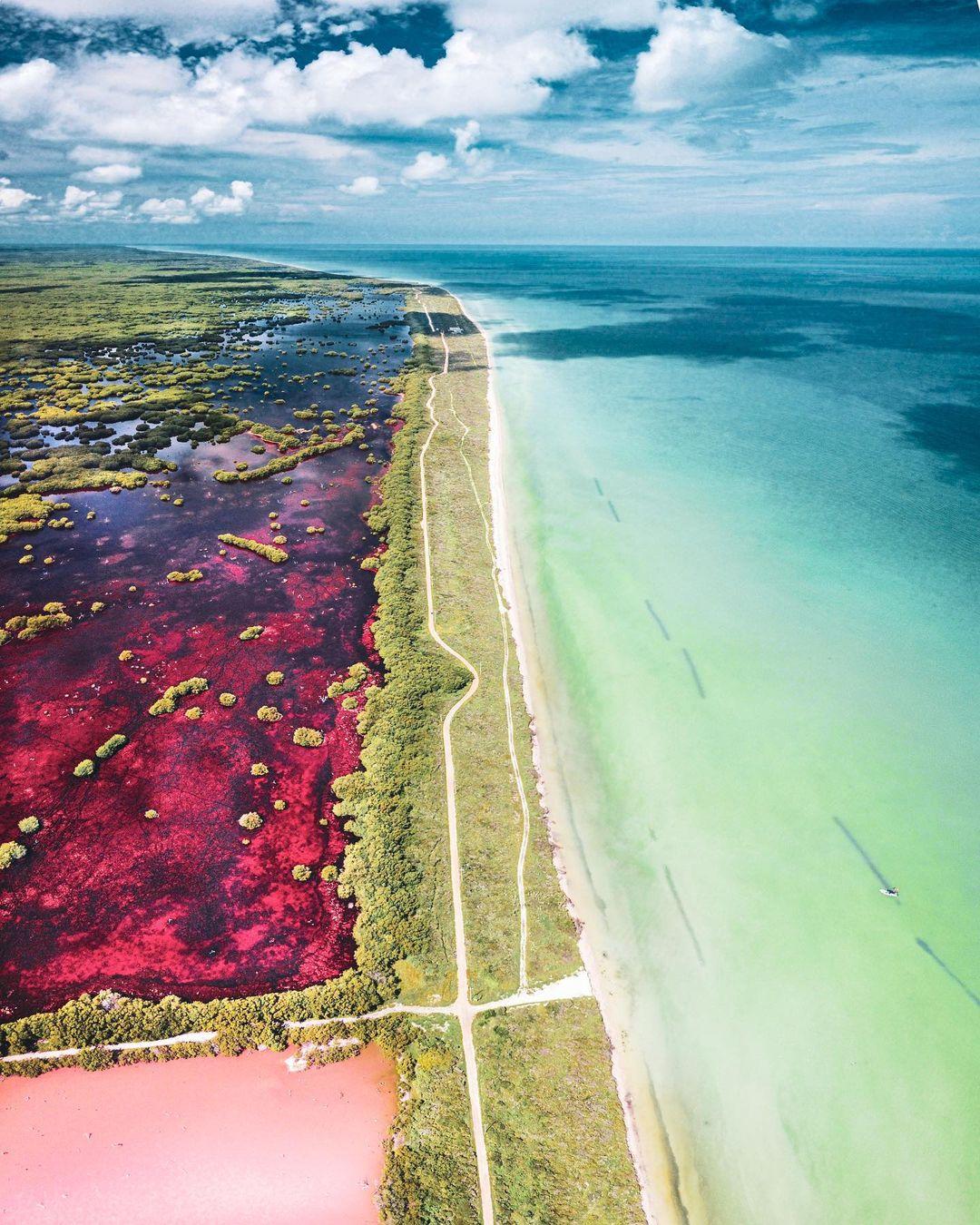 coloradas Sisal Yucatán