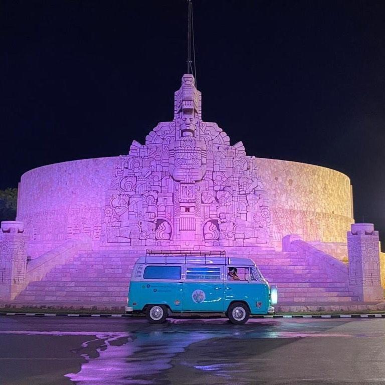 Paseo de Montejo en Mérida