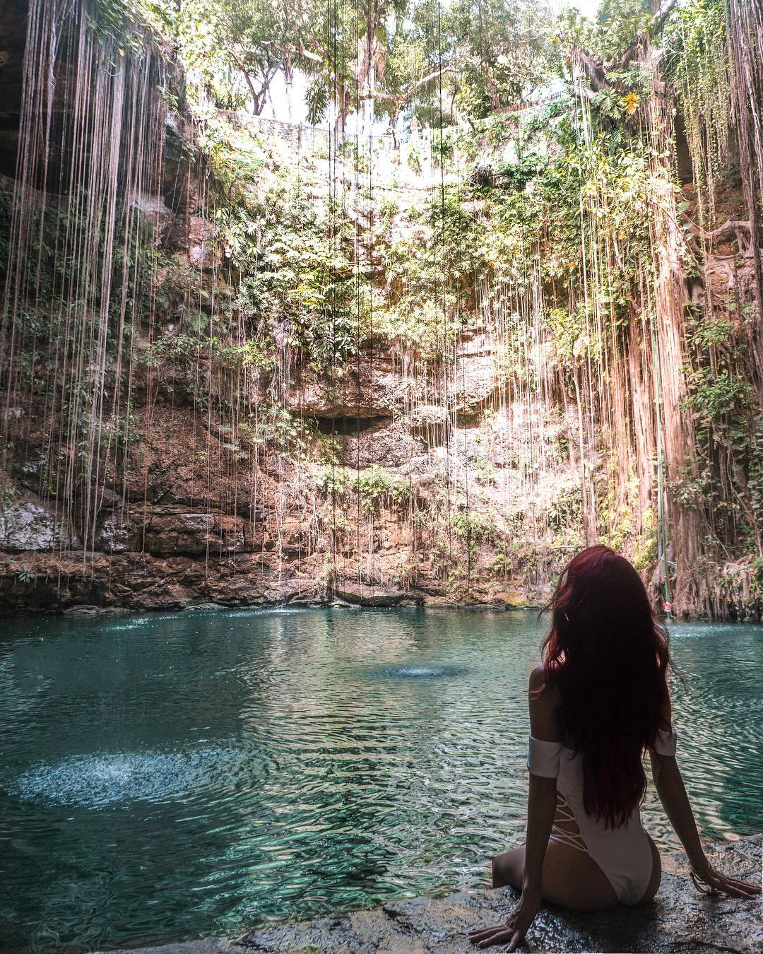 Cenote ik kil, top yucatan cenotes, mejores cenotes peninsula de yucatan