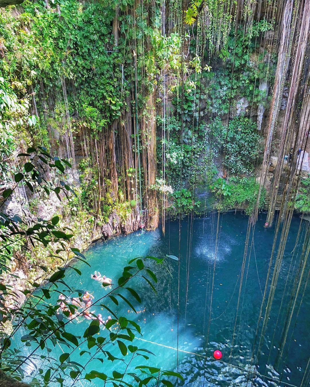 cenote ikkil, top yucatan cenotes, los mejores cenotes de yucatan valladolid