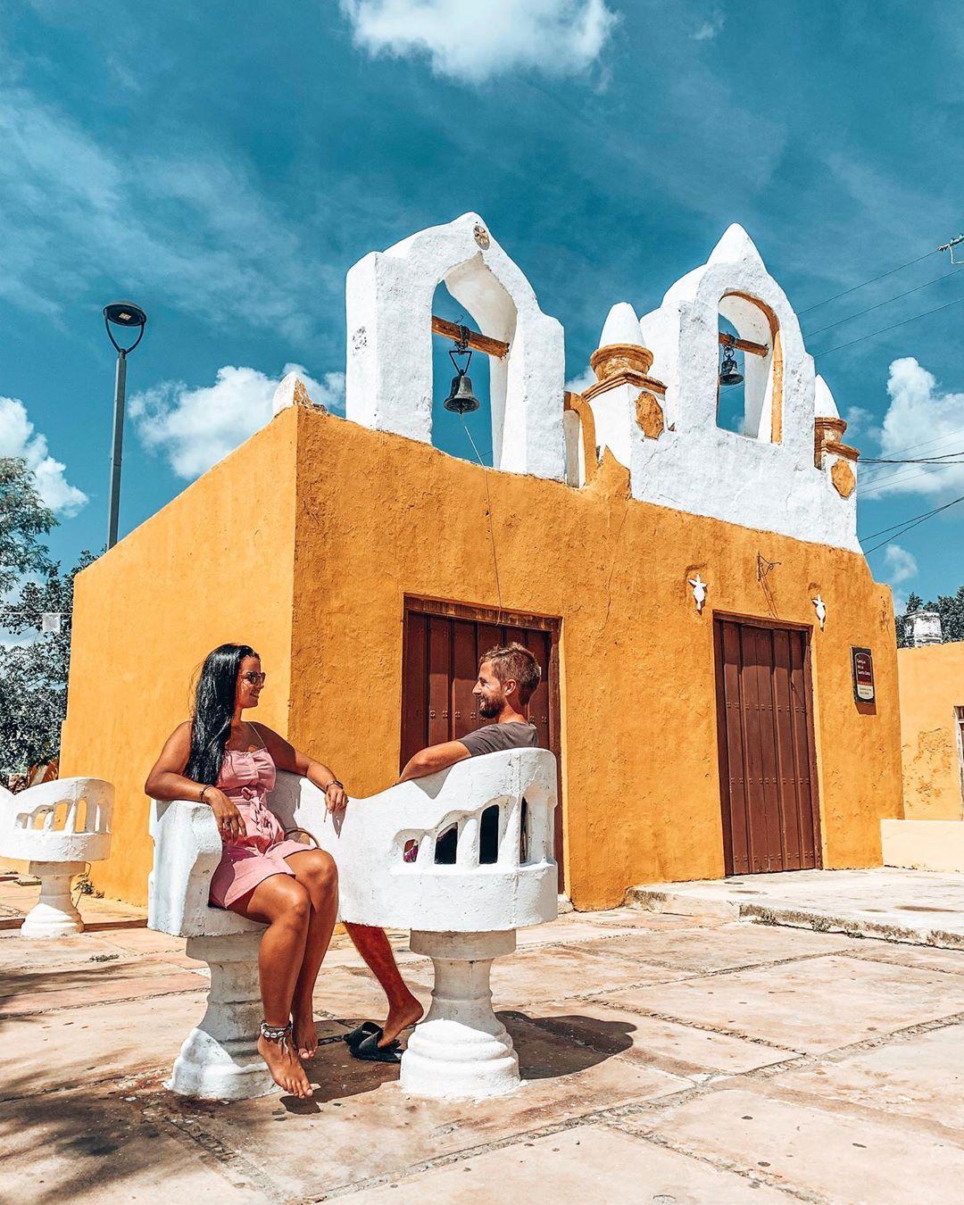 izamal yucatan la capilla de santa cruz, top yucatan instagram