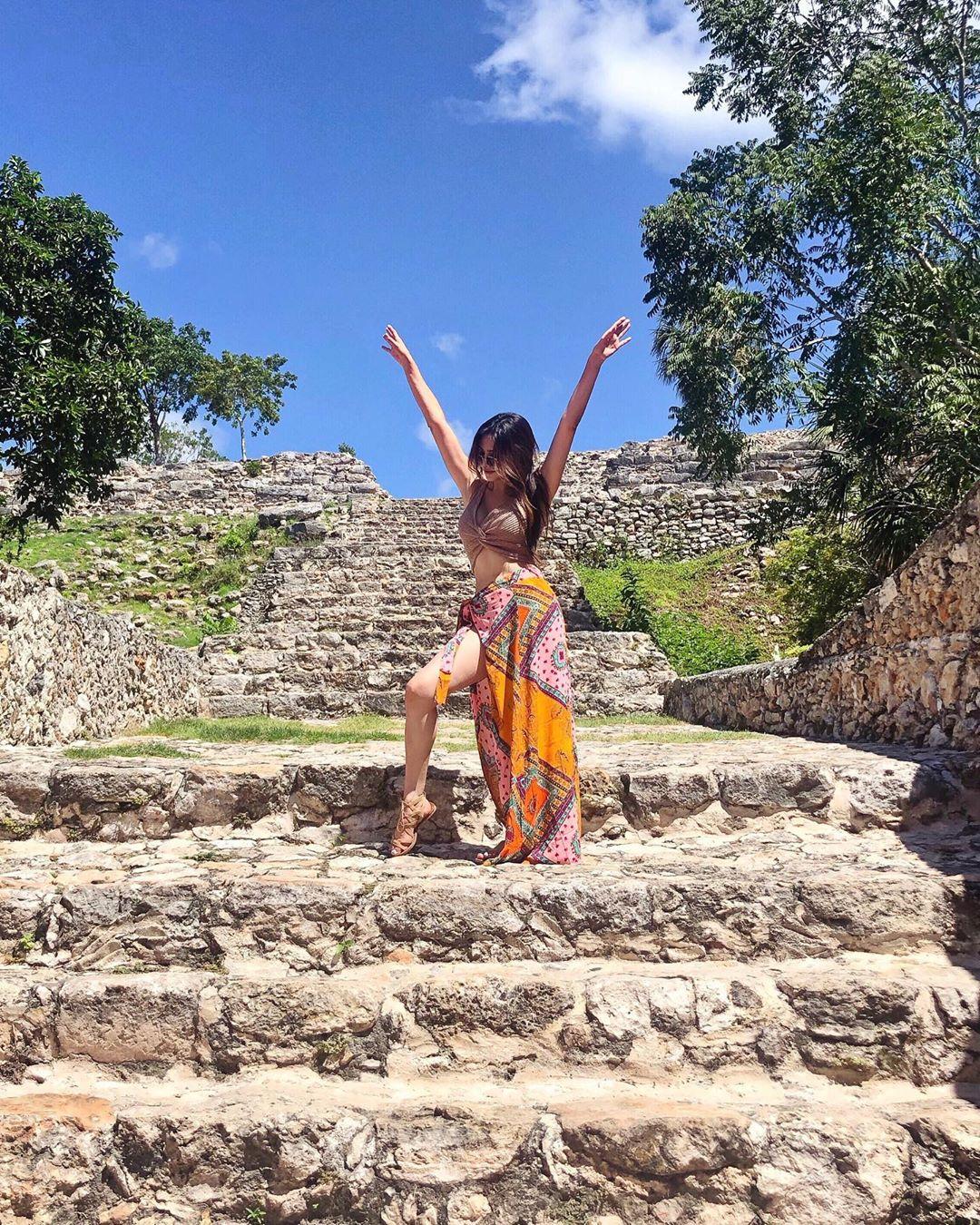 piramide kinich kakmo top yucatan izamal pueblo magico instagram