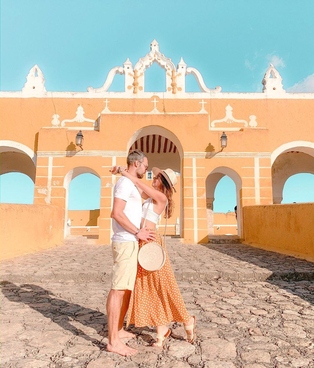 entrada de la iglesia de izamal yucatan, top yucatan instagram pueblo magico