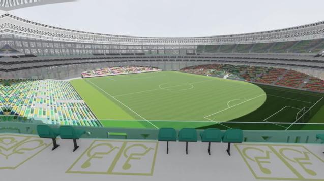 3 - Será un estadio tanto para futbol como para baseball, albergando a los Venados de Yucatán (Equipo de futbol local)como a los Leones de Yucatán (Equipo de baseball local).