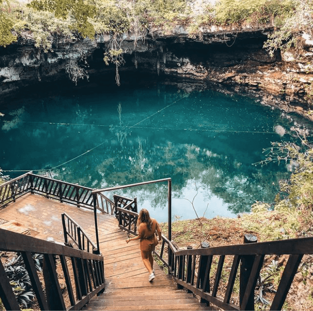 Cenote ikil yucatán
