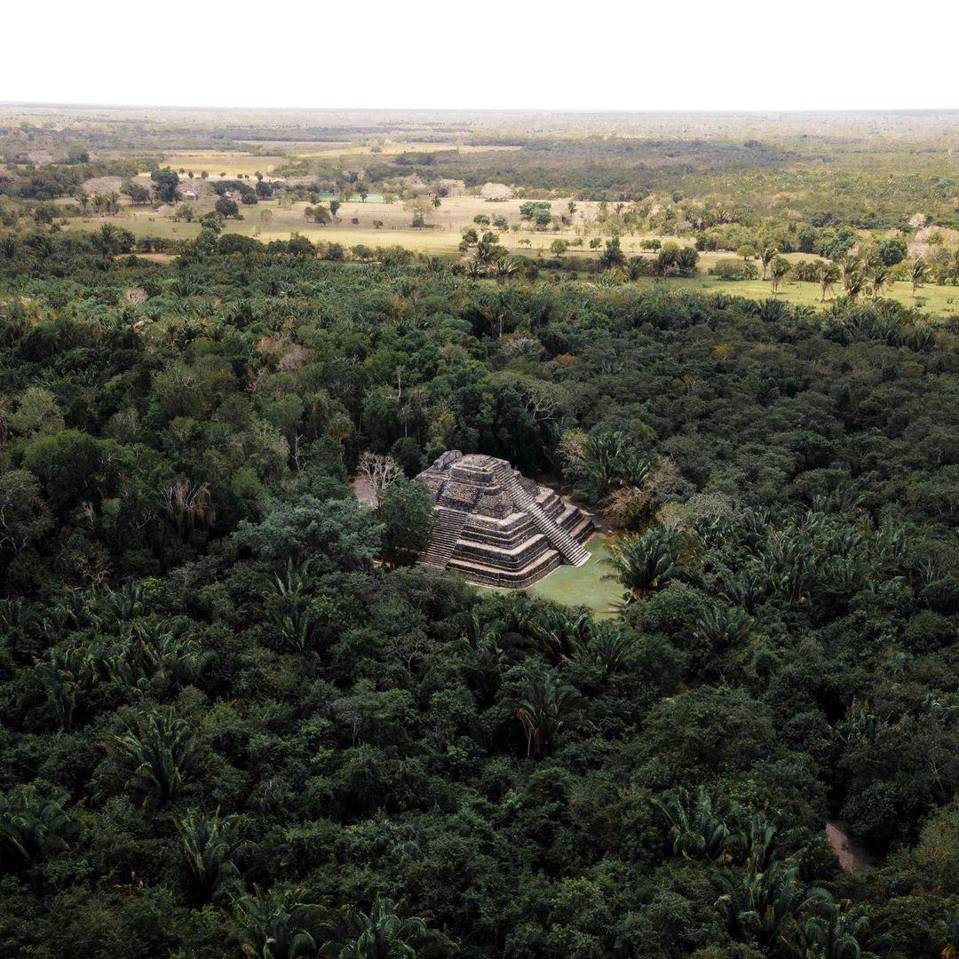 chacchoben templo 1