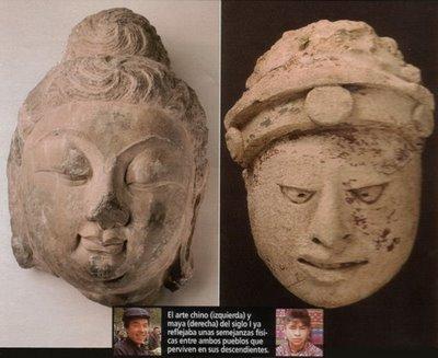 similitudes entre mayas y chinos