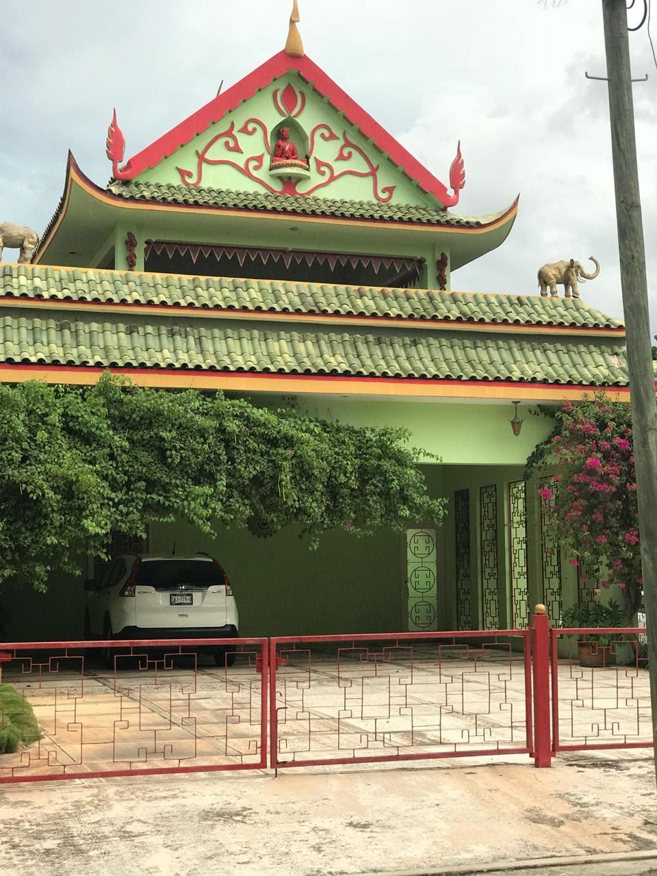 Frente de la casa China