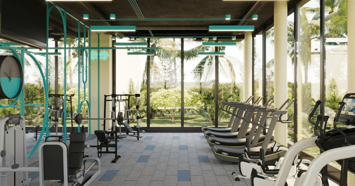 gym aloft tulum