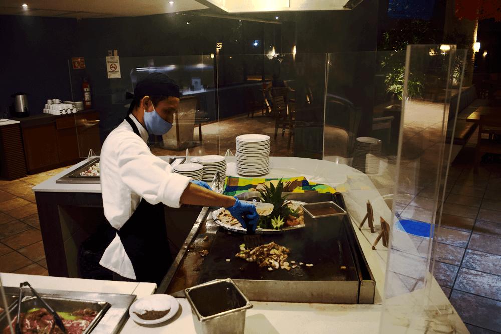 hotel reef restaurante hotel mar y tierra