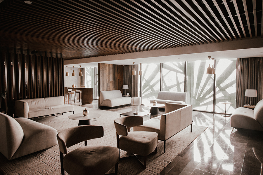 NH Collection Merida Interior de lobby