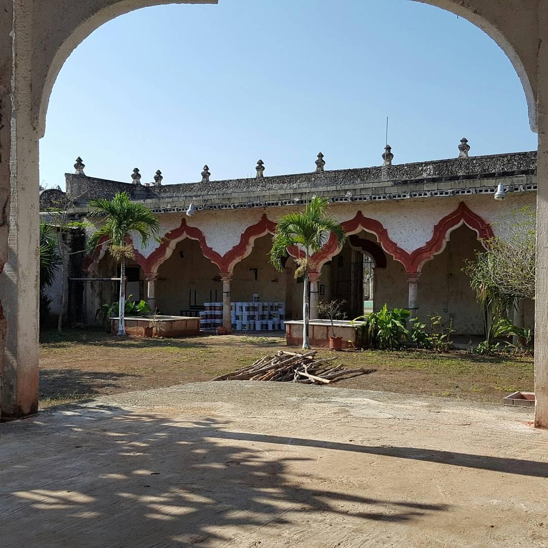 casa de huaycot en yaxkaba