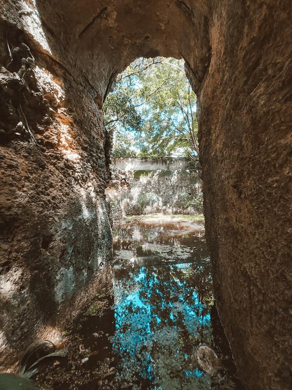 pasadizos en merida yucatan cuevas de agua