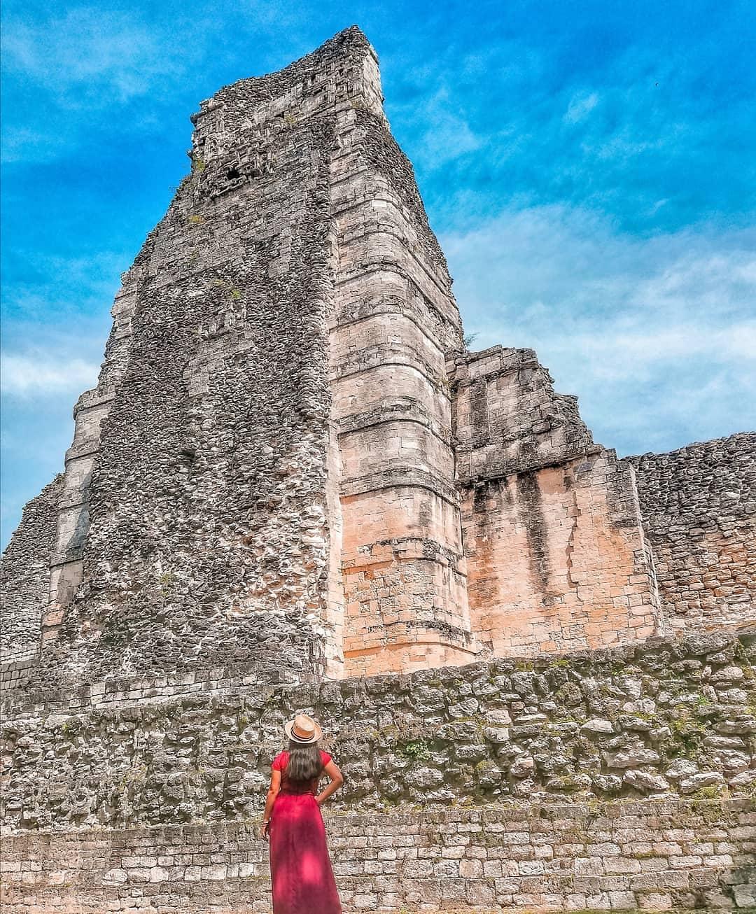 xpujil zona arqueologica campeche