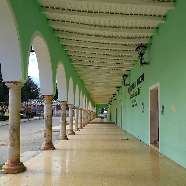 palacio municipal yaxkaba