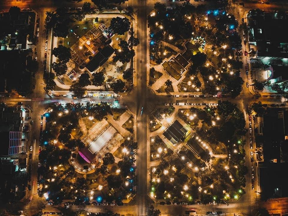 parque de las americas en merida de noche que hacer en merida