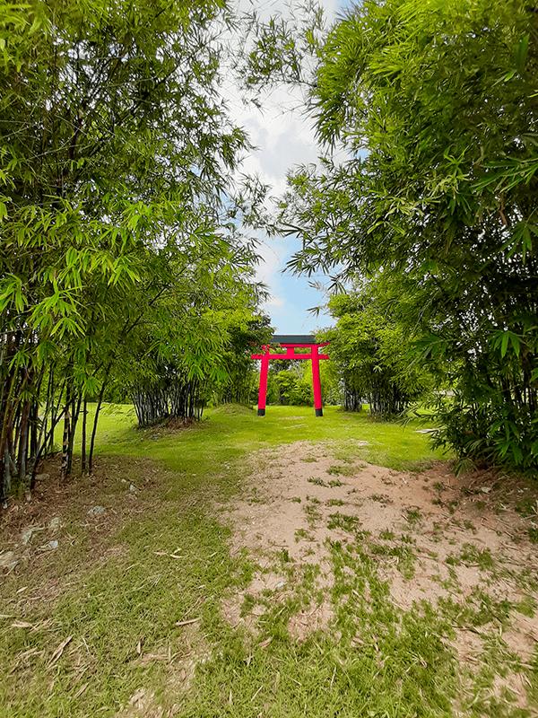 arcos torii parque japones en merida top yucatan