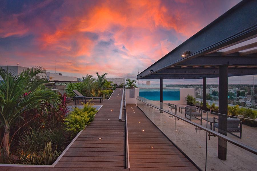 Mejores Rooftop de Hotel en Merida NH Collection Merida