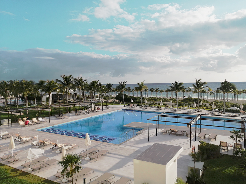 RIU Palace Costa Mujeres Hotel Pool View