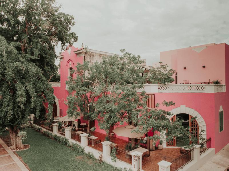 HOTEL ROSAS Y XOCOLATE MERIDA PASEO DE MONTEJO ROSA