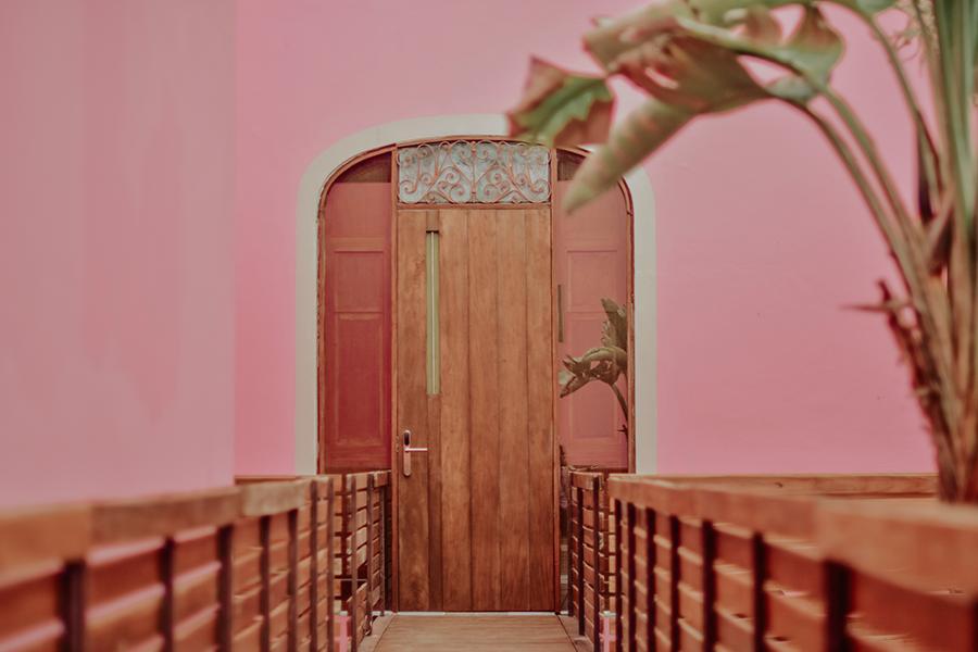 cuarto en rosas & xocolate hotel boutique de merida yucatan paseo de montejo