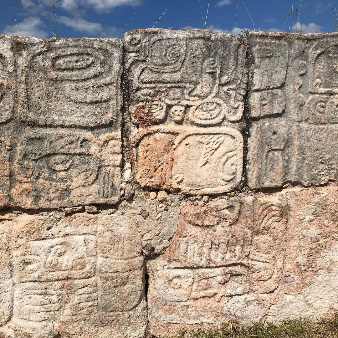 altar de los glifos, kabah
