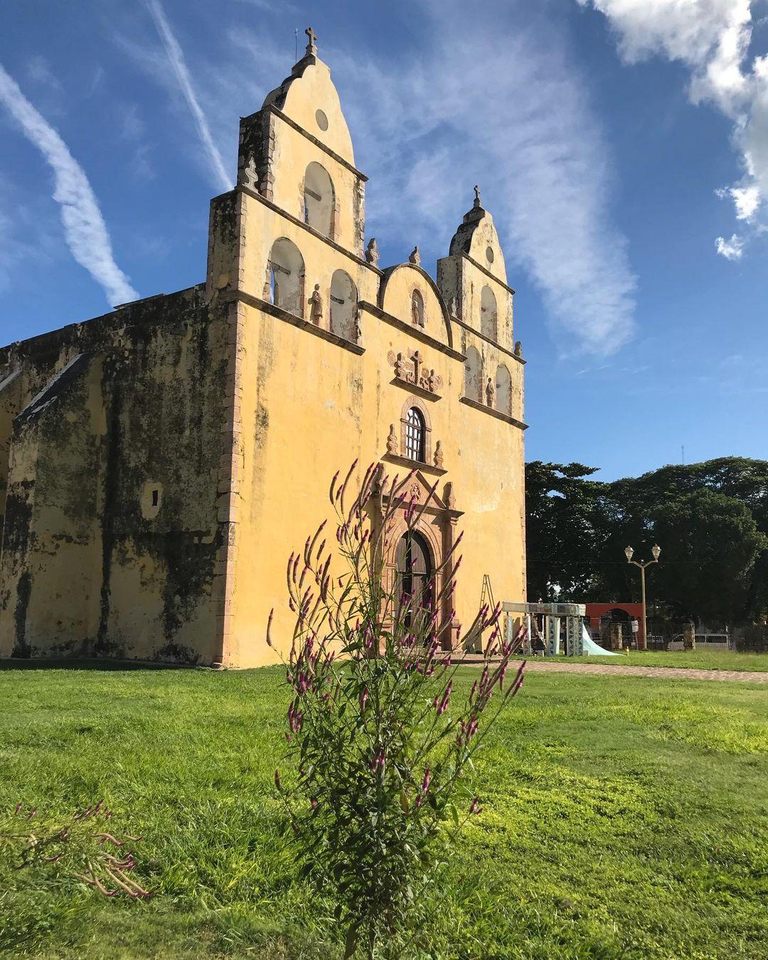 iglesia de oxkutzcab
