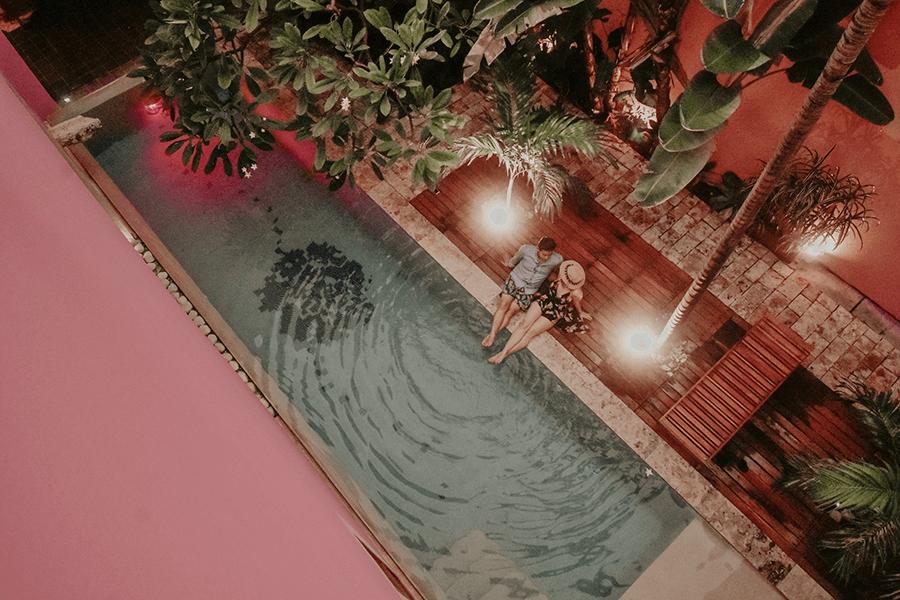 HOTEL ROSA DE MERIDA ROSAS & XOCOLATE BOUTIQUE PISCINA PASEO DE MONTEJO