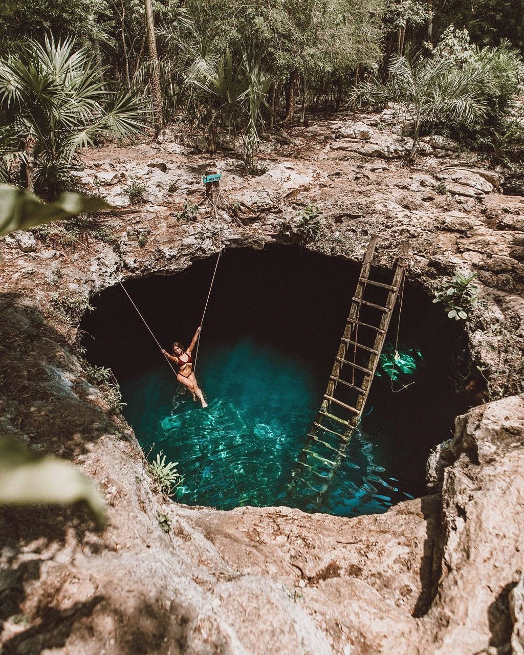 Que tan profundo son los cenotes