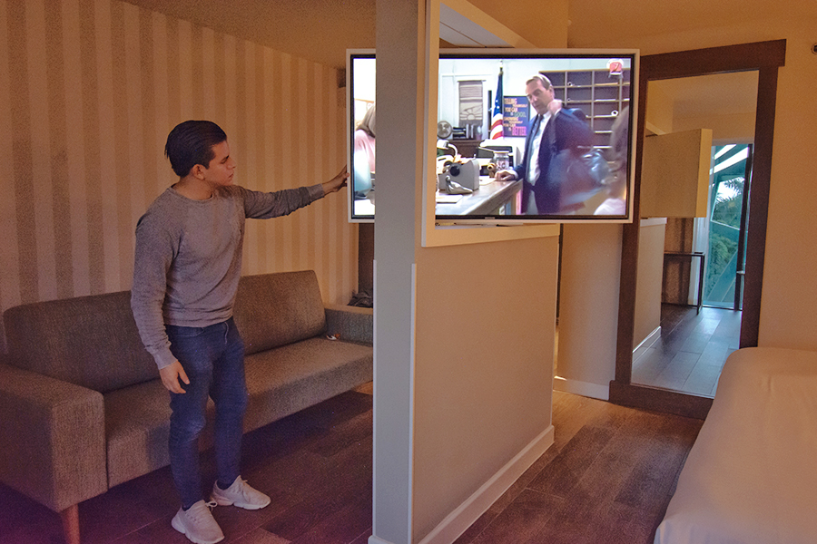 TV del NH Collection Merida