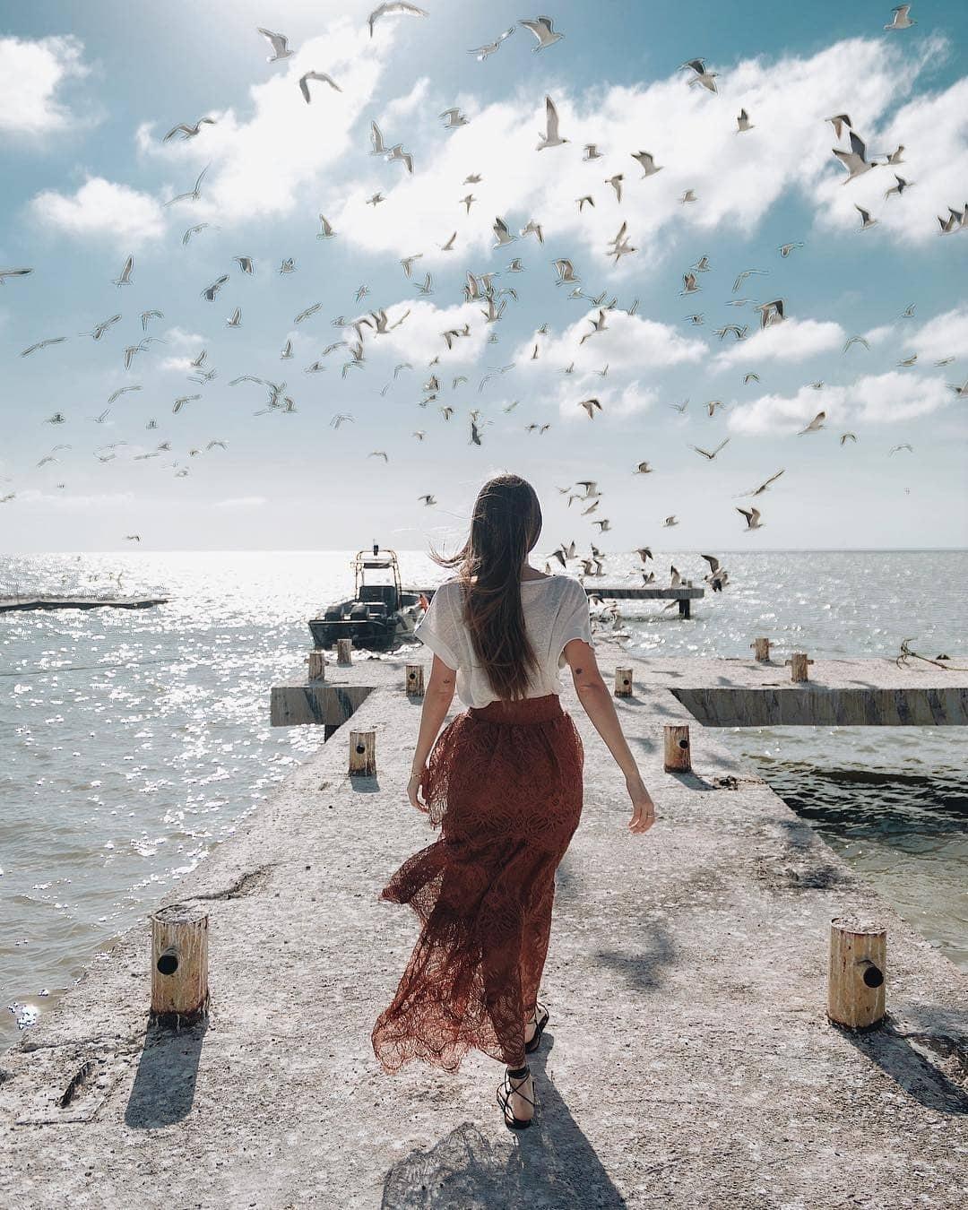 muelle isla arena