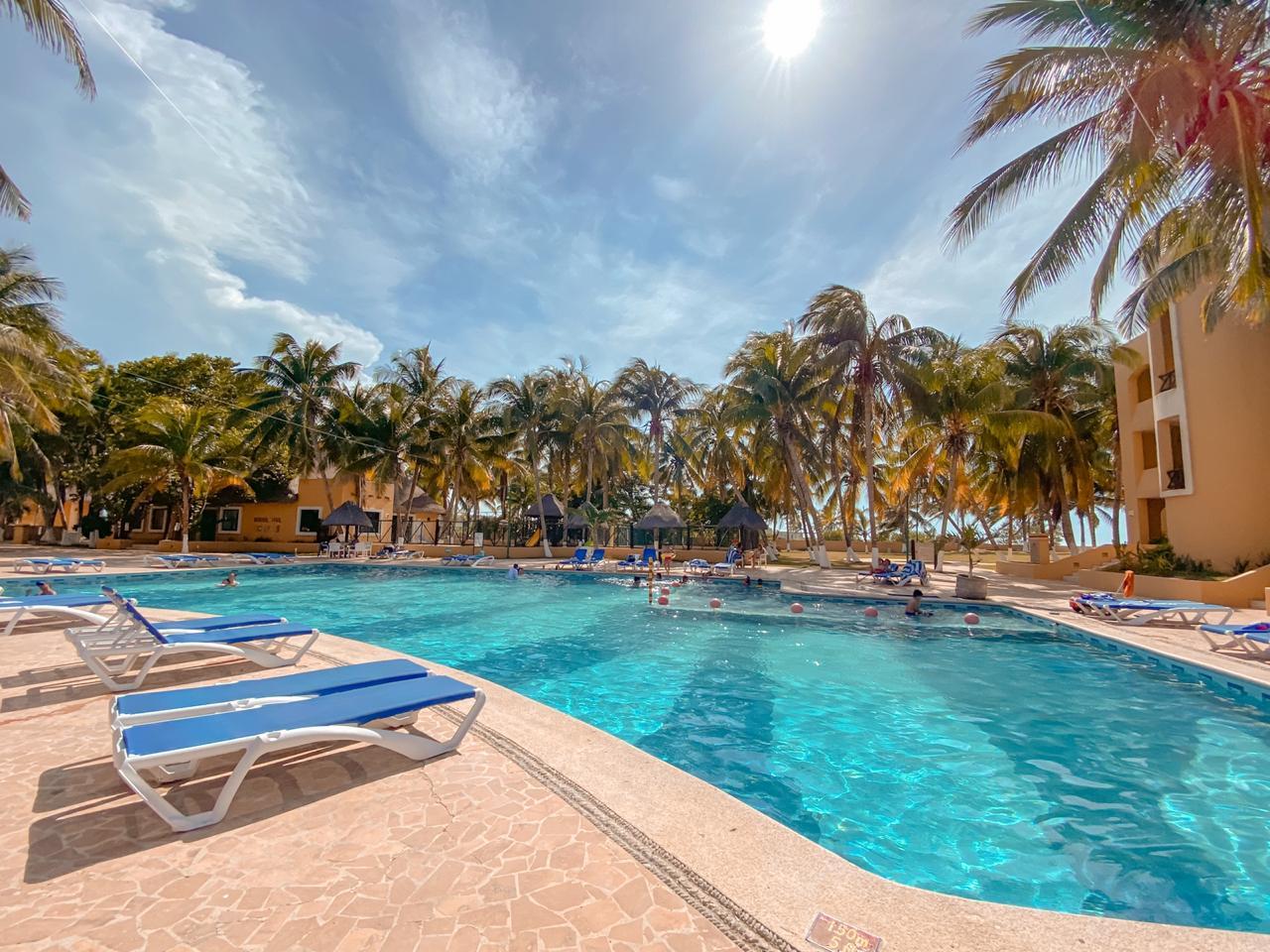 hotel reef yucatan en telchac puerto