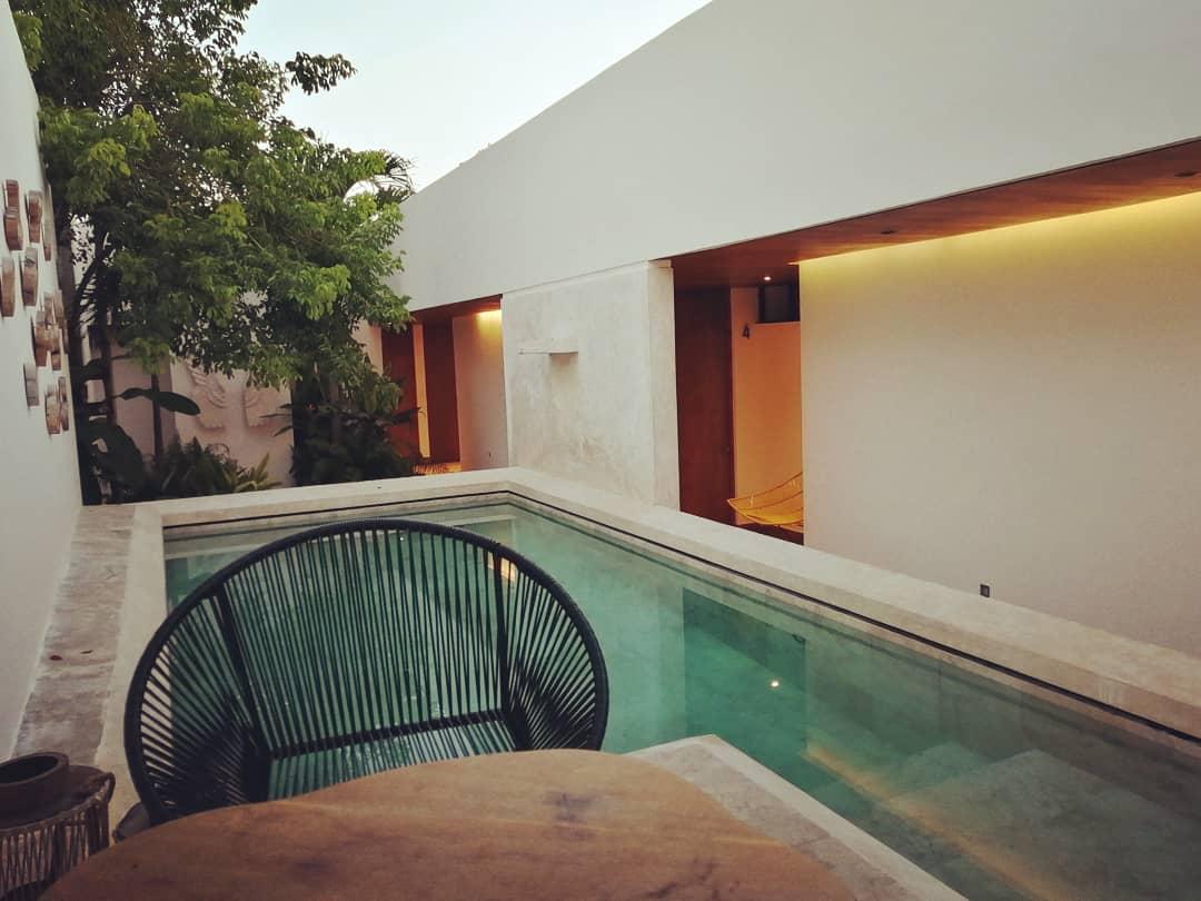 Hotel Agua de Cienega hotel para parejas en yucatan
