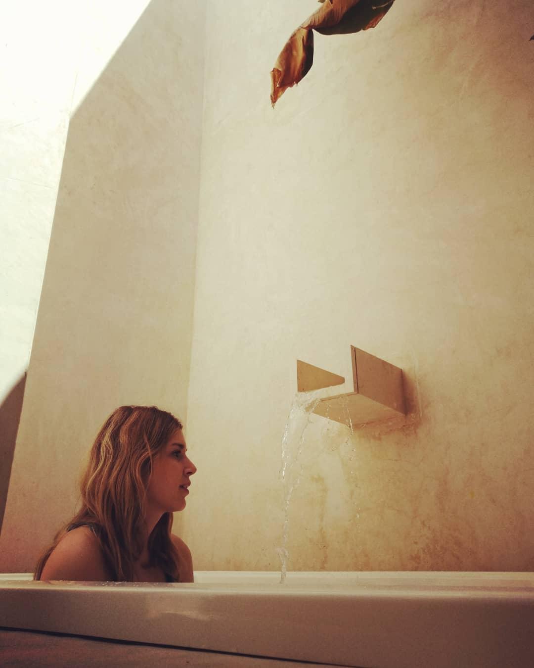 jacuzzi en hotel boutique de yucatan agua de cienega hunucma amor
