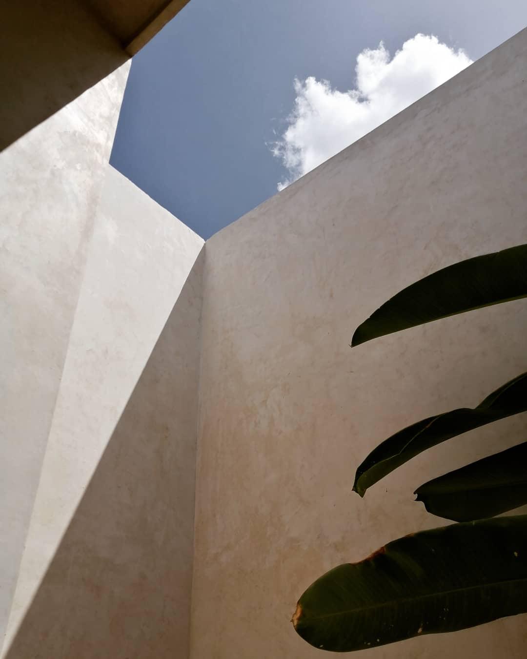 baño con vista el cielo en hotel agua de cienega hunucma yucatan
