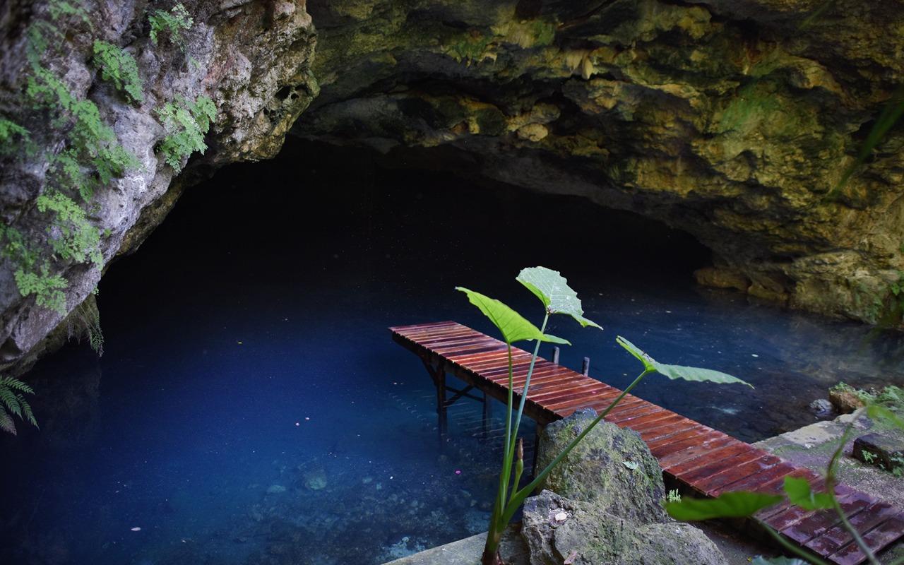 cenote en hacienda de Espita