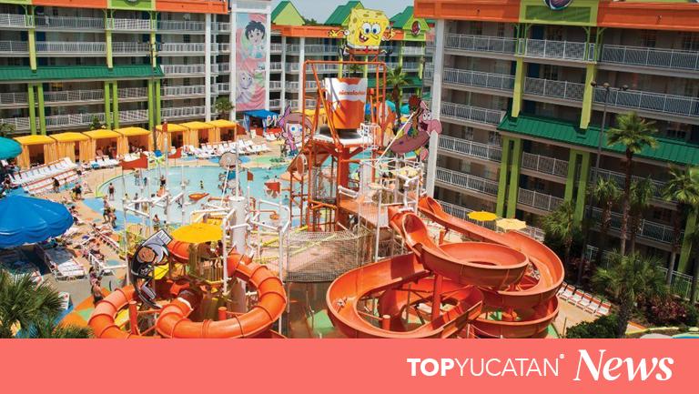 Así será el hotel de Nickelodeon en la Riviera Maya que abrirá sus puertas en 2021