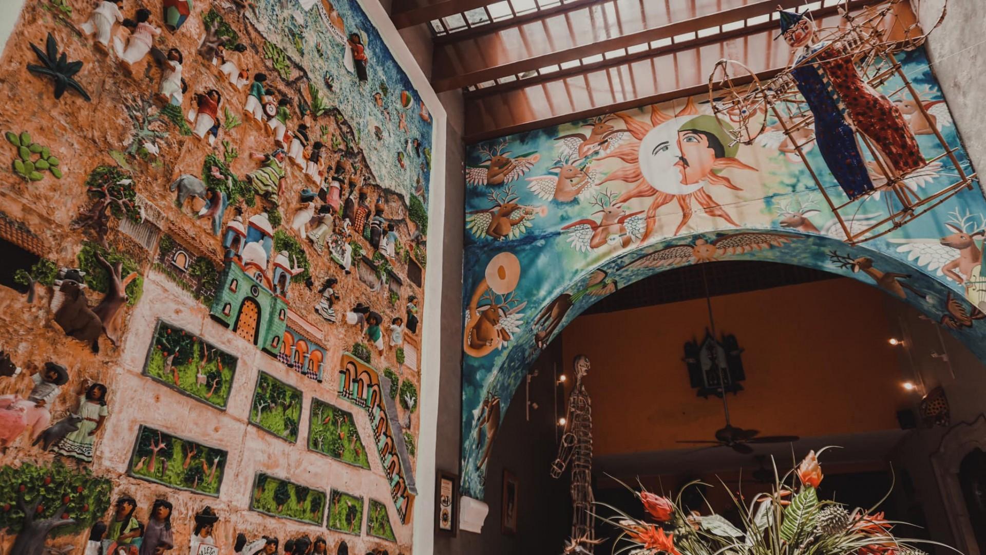Casa de los Venados: Un museo de arte privado en Valladolid, Yucatán
