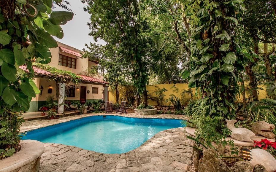 Casa Quetzal: El colonial hotel mexicano con amplios jardines en Valladolid