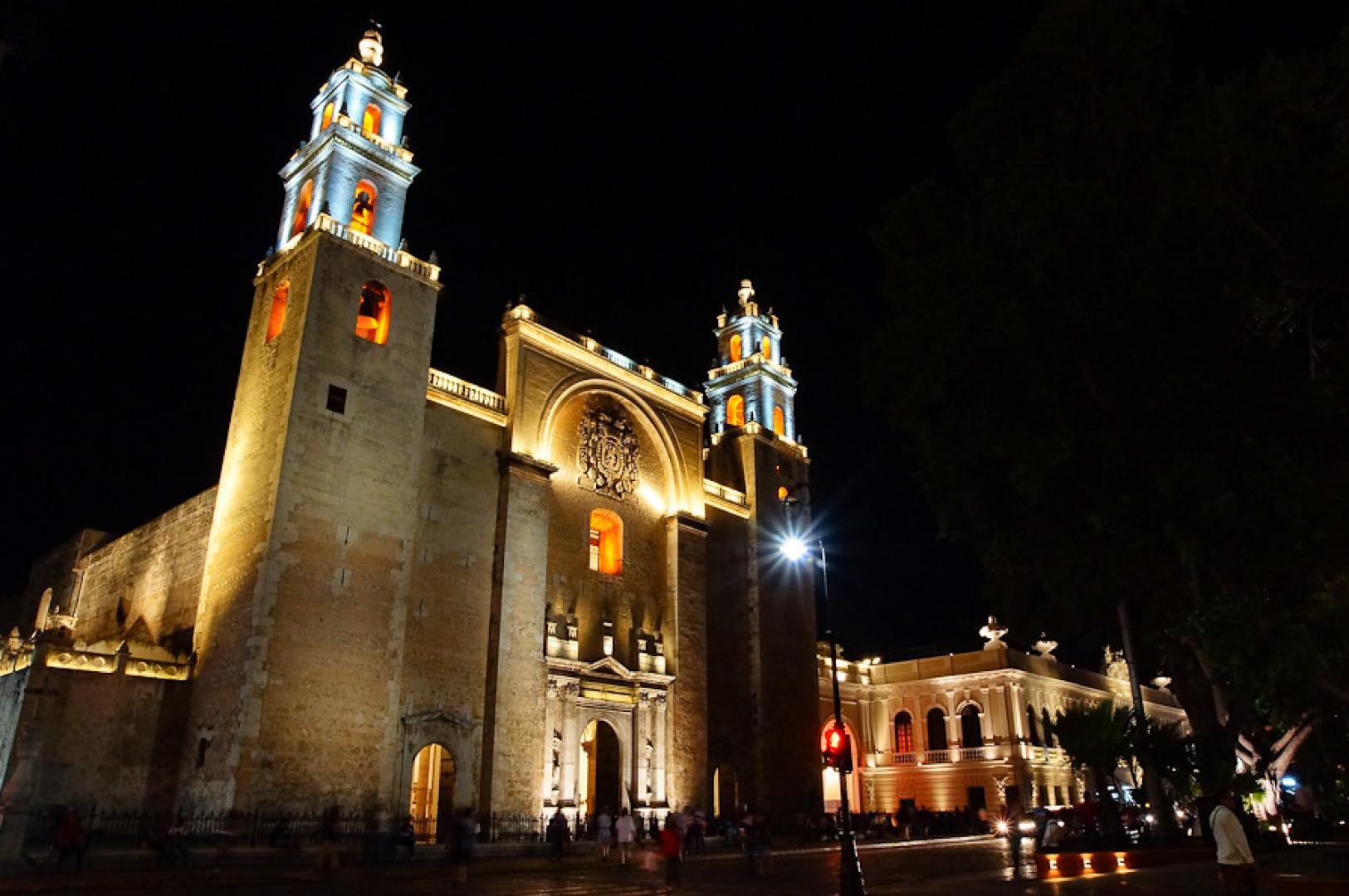 Catedral de San Ildefonso en Mérida
