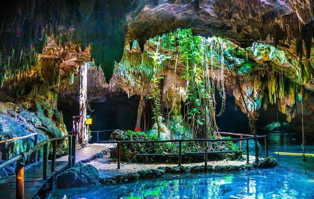 Cenote Chaak Tun, el lugar donde las raíces de los árboles se mezclan con la luz del sol