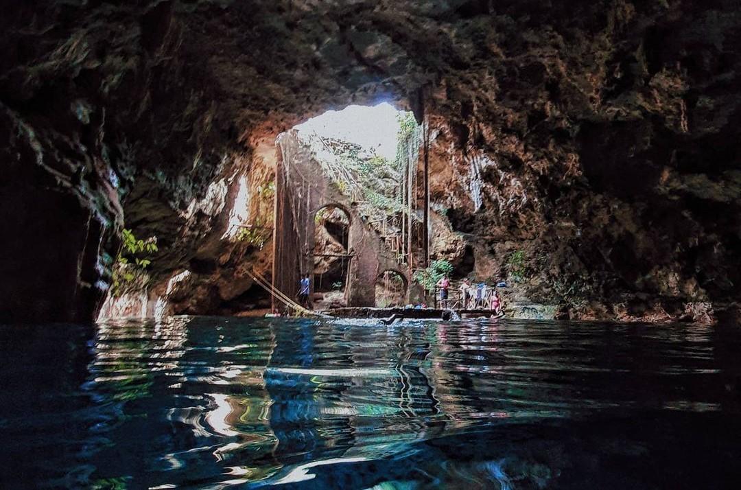 Cenote Chelentún, una escalera a otro mundo
