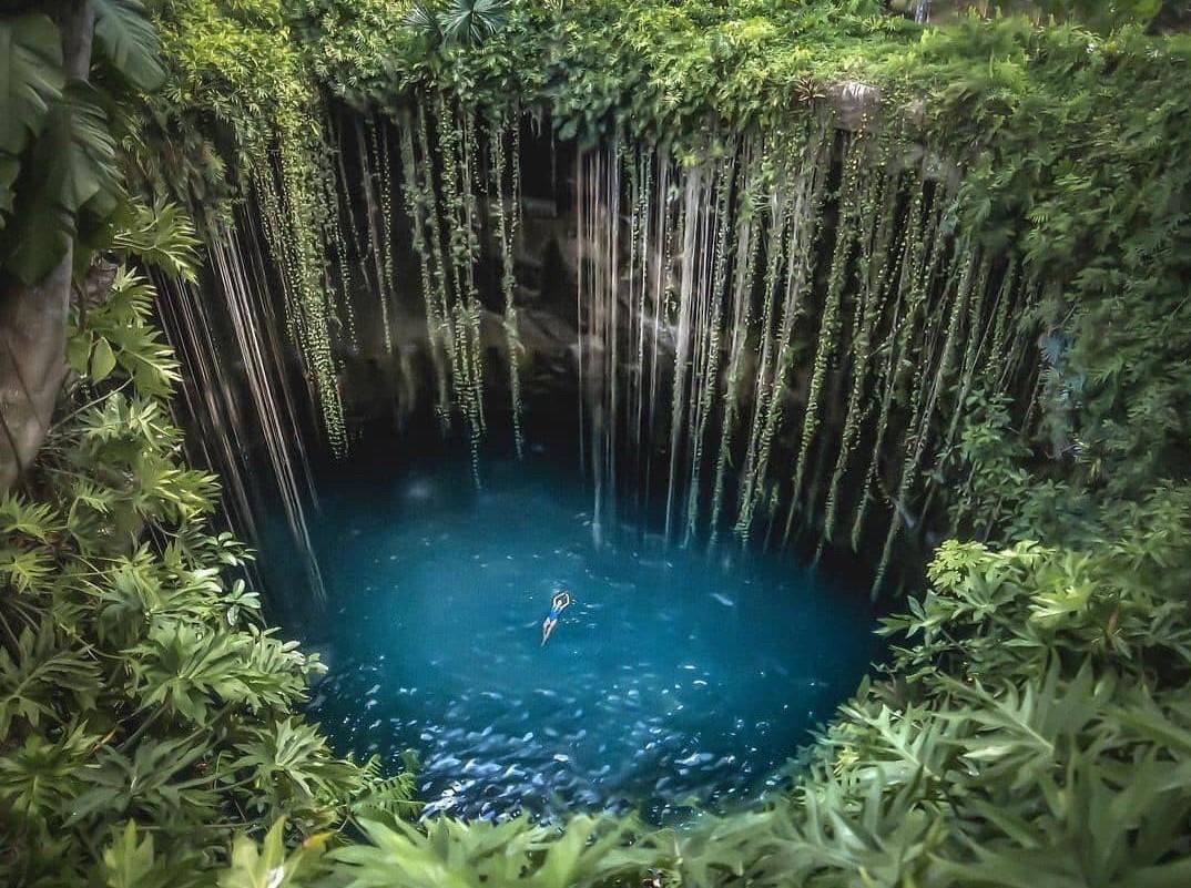 Cenote Ik Kil, El más Instagrameable de Yucatán