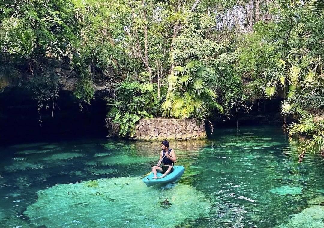 Cenote Kantun Chi, Un lugar que parece sacado de Jurassic Park