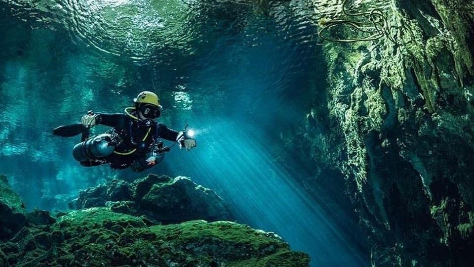 Cenote minotauro, La tenebrosa cueva que pocos quieren explorar
