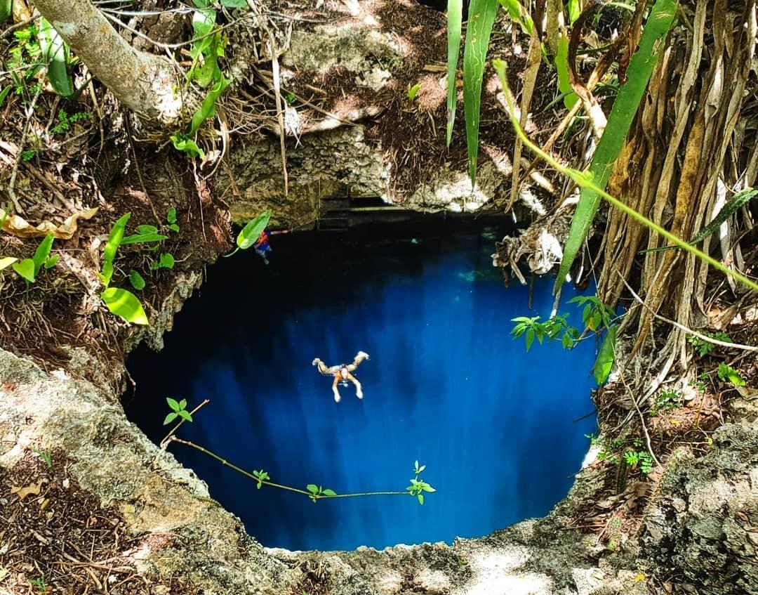Cenote Noh Mozon, un lugar donde se combina la luz y el agua