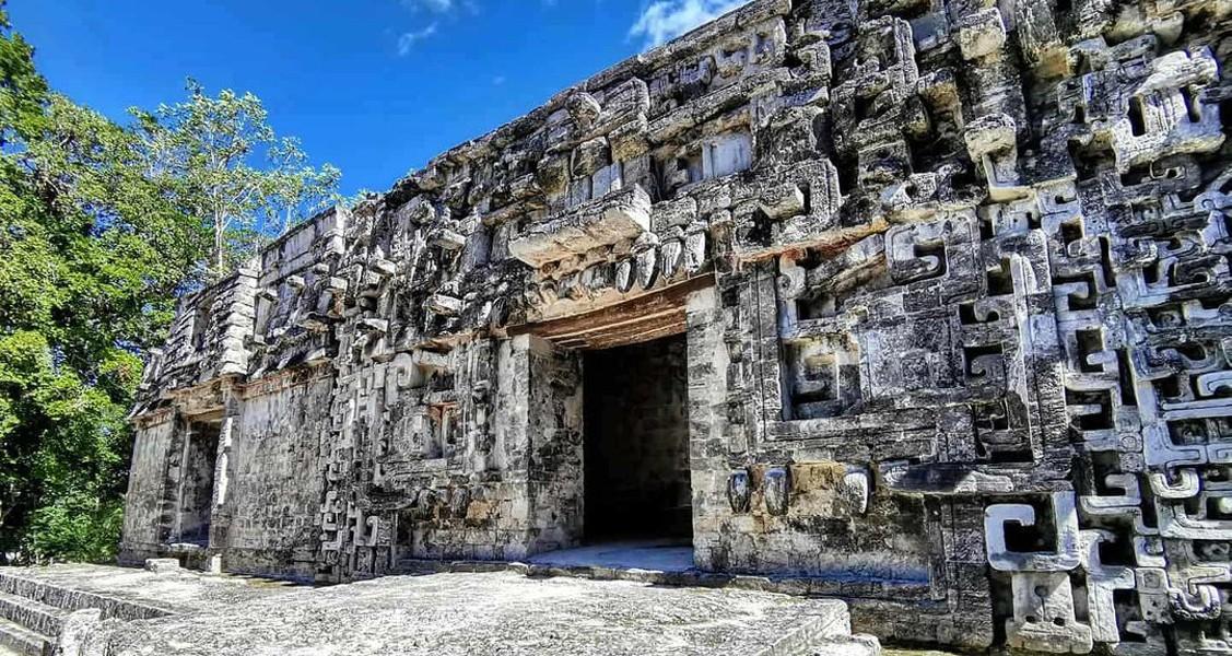 Chicanná, La zona arqueológica que parece un CALEIDOSCOPIO de piedra