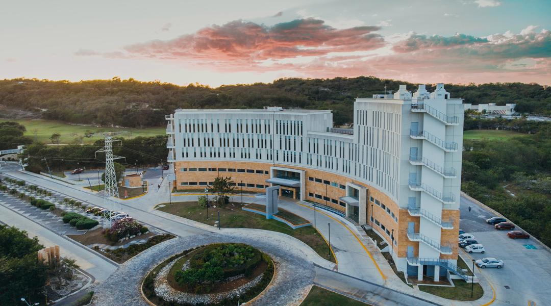 Conoce Vossan, Un innovador hospital rodeado de la armonía y serenidad de Campeche